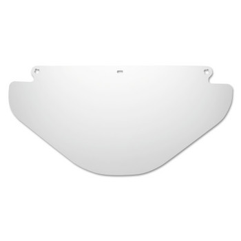 3M PETG Faceshields, WE96X, Clear, Flat, 9 in X 18.25  in (25 EA)