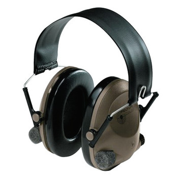 3M Peltor Soundtrap Tactical 6-S Headset, 21 dB NRR, Olive, Over the Head (1 EA)
