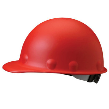 Honeywell Roughneck P2 Protective Caps, SuperEight Ratchet, Red (1 EA)