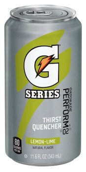 Gatorade Cans, Lemon-Lime, 11.6 oz, Can (24 CAN)