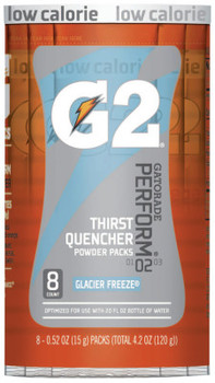 Gatorade G2 Powder Packets, Glacier Freeze, 0.52 oz, Packet (1 CA)