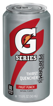 Gatorade Cans, Fruit Punch, 11.6 oz, Can (24 CAN)