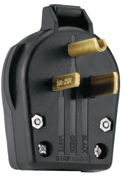 Cooper Wiring Devices Angle Grounding Plug (1 EA)