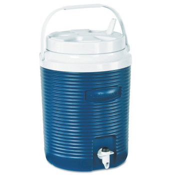 Newell Rubbermaid 2-Gallon Victory Jugs, 2 gal, Modern Blue (1 EA)