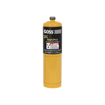 Goss Disposable Cylinders, 16 oz, MAPP (12 EA)