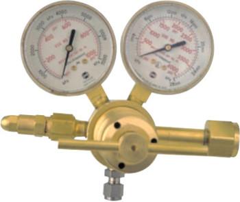 Esab Welding High Pressure Single Stage Piston Regulators, Inert Gas, CGA580, 3,000 psig (1 EA)