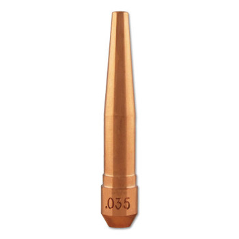 Bernard Centerfire Contact Tips, 0.035 in Tip ID, 2 in Long, Wire (1 EA)