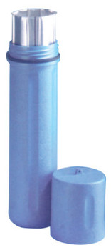 K.I.W.O.T.O. Inc. Polyethylene Canisters, For 12 in to 14 in Electrode, Blue (1 EA)