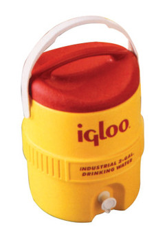 Igloo 400 Series Coolers, 2 gal, Red; Yellow (1 EA)