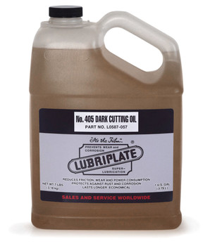 LUBRIPLATE 405 CUTTING OIL, 1 gal. Jug, (4 JUG/CS)