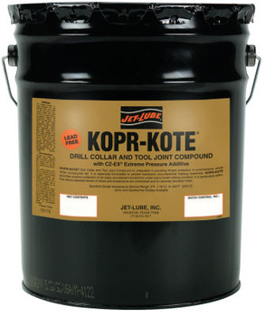 Jet-Lube Kopr-Kote Oilfield Drill Collar and Tool Joint Compound, 5 gal (5 GAL)