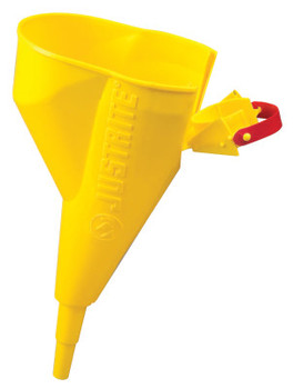 Justrite Funnel Attachments for Type I Steel Safety Cans, Funnel, Slip-On (1 EA)