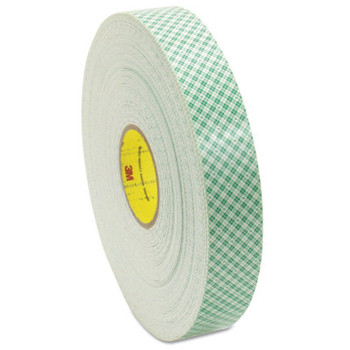 3M Double Coated Urethane Foam Tapes 4016, 3/4 in X 36 yd, 62 mil, Off-White (1 RL)