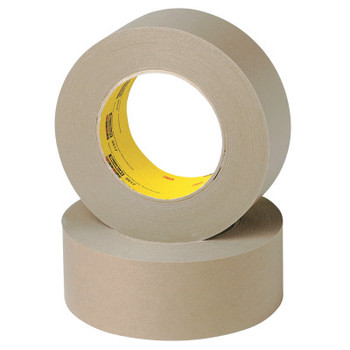 3M Scotch Flatback Tape 2517, 72 mm X 55 m, 6.5 mil, Medium Brown (1 RL)