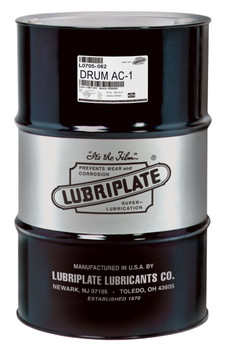 LUBRIPLATE AC-1 (AIR COMPRESSOR OIL) (55 Gal / 400lb. DRUM)