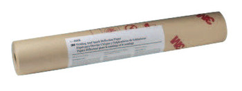 3M Welding/Spark Deflection Paper, 24 in X 150 ft, Flame-Retardant Paper, Brown (1 EA)