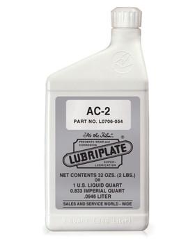 LUBRIPLATE AC-2 (AIR COMPRESOR OIL), 1 qt. Bottle, (12 BTL/CS)