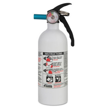 Kidde Automobile Fire Extinguishers, Class B and C Fires, 2 lb (1 EA)