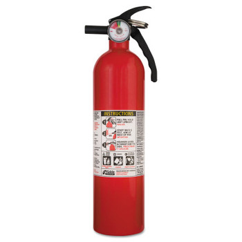 Kidde Full Home Fire Extinguisher, 2.5lb, 1-A, 10-B:C (1 EA)