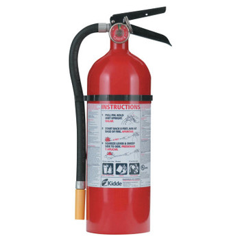 Kidde FC340M-VB Fire Control Extinguisher - ABC Type, 5.5 lb Cap. Wt. (1 EA)