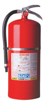 Kidde ProPlus Multi-Purpose Dry Chemical Fire Extinguisher - ABC Type, 20 lb Cap. Wt. (1 EA)