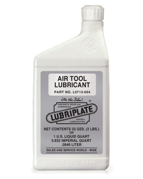 LUBRIPLATE AIR TOOL LUBRICANT, 1 qt. Bottle, (12 BTL/CS)