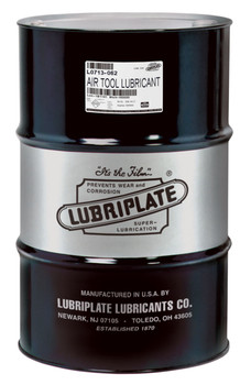 LUBRIPLATE AIR TOOL LUBRICANT (55 Gal / 400lb. DRUM)