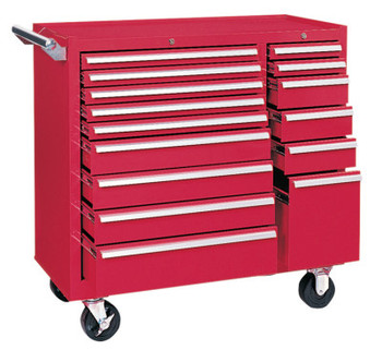 Kennedy 64315 MAINT. CART 15 DRAWER W/BALL BEARING SLD (1 EA)