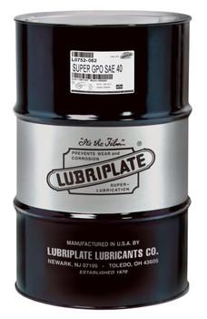 LUBRIPLATE GPO MOTOR OIL - SAE 40 (55 Gal / 400lb. DRUM)