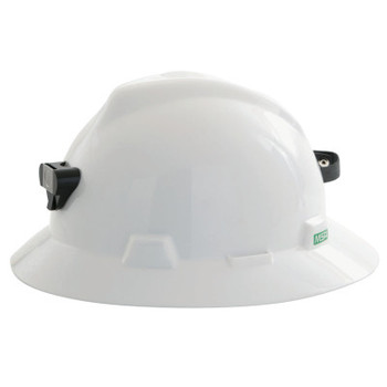 MSA Specialty V-Gard Protective Caps and Hats, Staz-On, Hat, White (1 EA)