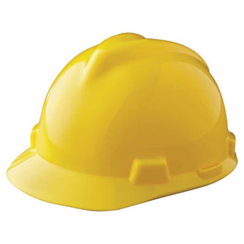 MSA V-Gard Protective Caps, Staz-On, Cap, Yellow (1 EA)