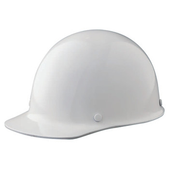 MSA Skullgard Protective Caps and Hats, Fas-Trac Ratchet, Cap, White (1 EA)
