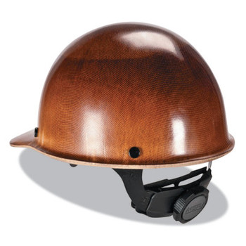 MSA Skullgard Caps with Fas-Trac Suspension, Fas-Trac Ratchet, Cap, Natural Tan (1 EA)