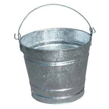 Magnolia Brush 10QT GALVANIZED WATER PAIL (12 EA)