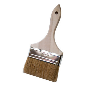 Magnolia Brush Low Cost Paint or Chip Brushes, 4 in wide, 1 1/2 in trim (1 EA)