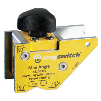 Magswitch Mini Angle Welding Magnets, 90 lb (1 EA)