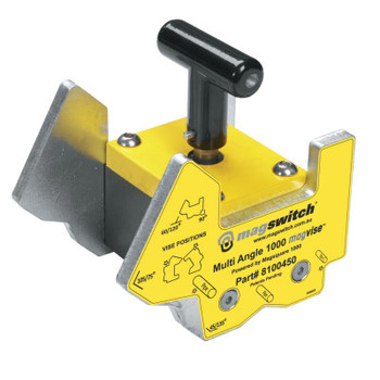Magswitch MagVise Multi-Angle Clamps, 1000 lb, 2 1/2 in x 4 in x 5 2/5 in (1 EA)