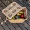 The RECOOL cooler box includes cup holders and the Igloo logo within the lid