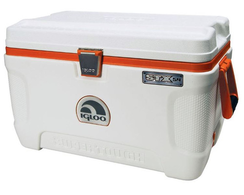 2b2c4926787 An external photo of the Igloo Super Tough STX-54 heavy duty coolbox