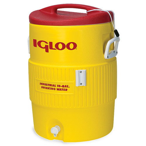 The Igloo 400 Series 10 Gallon water cooler dispenser comes complete with accessory bracket suitable for use with the Igloo Cone Cup dispenser