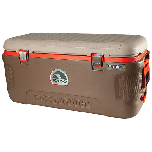 The Igloo STX-120 Sportsman is brown in colour and heavy duty to last in rough environments 44938
