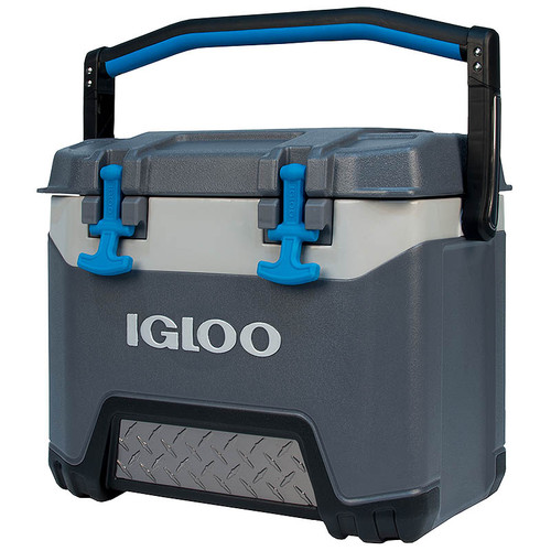 The Igloo BMX 25 cool box is a heavy duty but compact and lightweight portable ice coolbox which is great for camping fishing sports and day trips 49782