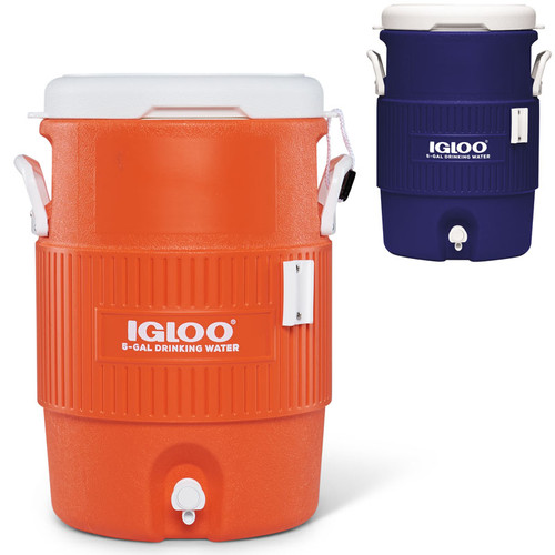 Igloo 5 Gallon Water Dispenser with Seat Lid