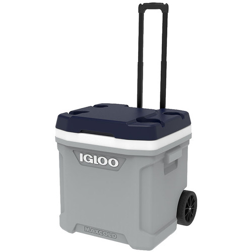 The Igloo Latitude 62 Roller wheeled ice cool box is ideal for beach festival camping and can keep ice for up to 5 days! 34696