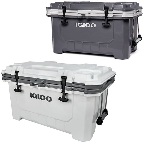 The Igloo IMX 70 super heavy duty ice cool box is no available in 2 different colour options!