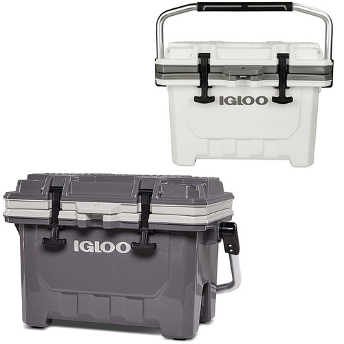 The Igloo IMX 24 super heavy duty ice cool box is no available in 2 different colour options!