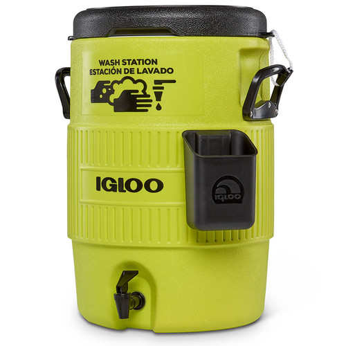 The Igloo PPE handwash sanitiser station is ideal for COVID secure events and sports as well as work sites