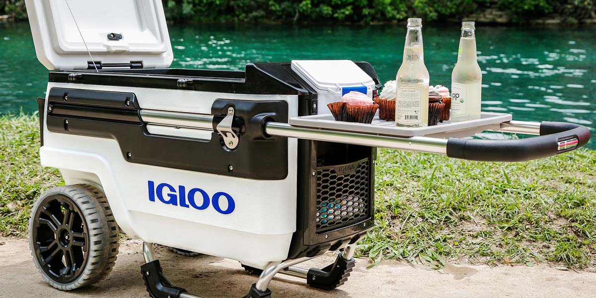 Igloo Trailmate Marine 66 wheeled coolbox
