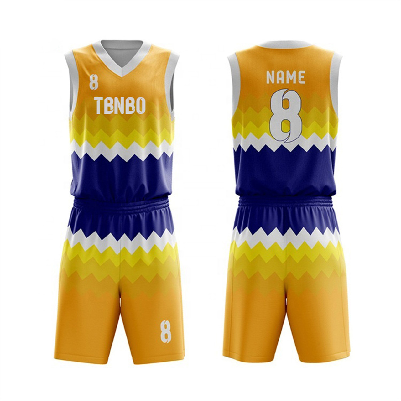 Custom Made High Quality 100% Polyester Latest Design Custom Cheap Wave Pattern Basketball Jerseys With Numbers