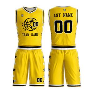 Latest Basketball Uniform Design Custom Sublimation Printing Men Basketball Jerseys